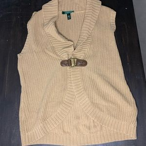 Lauren Ralph Lauren knit sweater vest